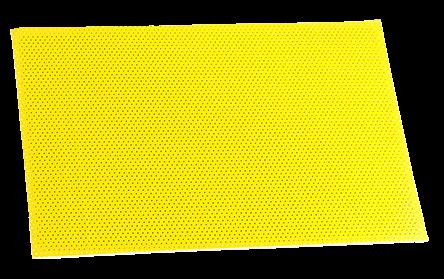 Superpad P gelb für Exzenter-Bodenmaschinen